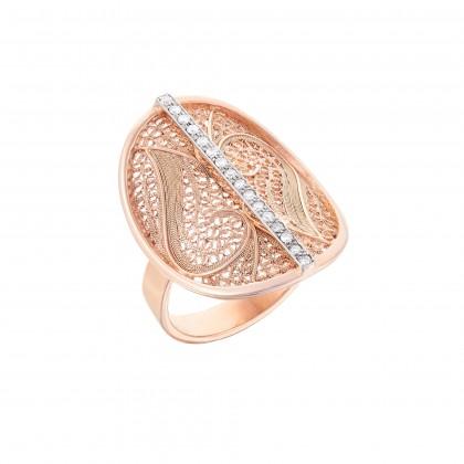 DECO FILIGREE | Anel com Diamantes