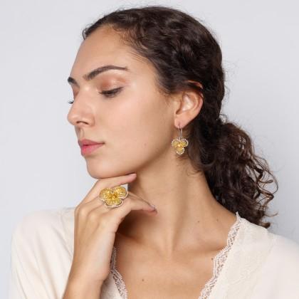 BLOSSOM | Brincos com Diamantes