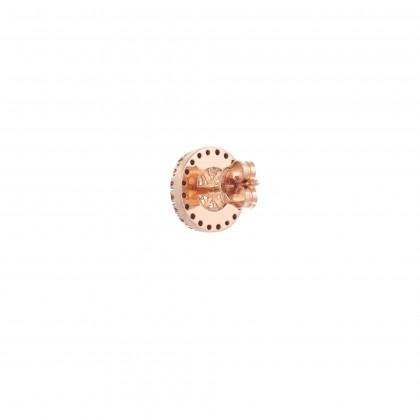 DECO FILIGREE | Rock Crystal and Diamond Earrings