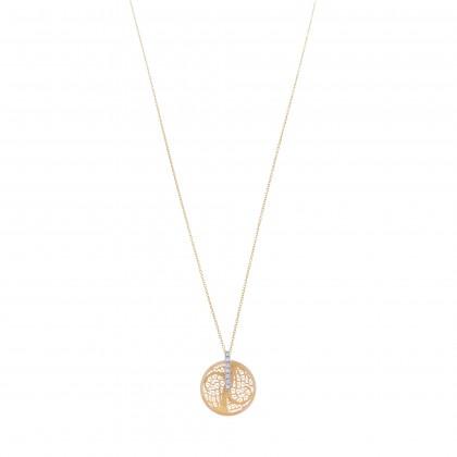DECO FILIGREE   Diamond Necklace
