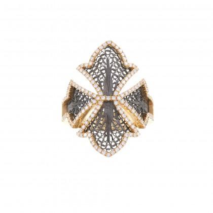 COUTURE | Anel com Diamantes