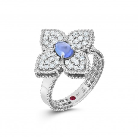 Princess Flower | Tanzanite and Diamond Ring