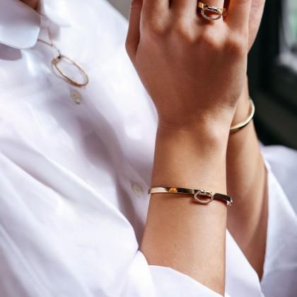 Classique Parisienne | Diamond Bangle