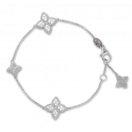 Princess Flower | Pulseira com Diamantes