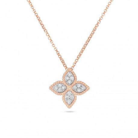 Princess Flower | Diamond Necklace