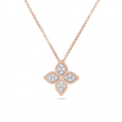 Princess Flower | Colar com Diamantes