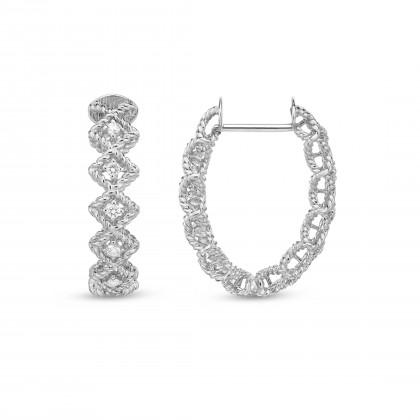 Roman Barocco | Diamond Earrings