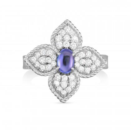 Princess Flower | Anel com Tanzanite e Diamantes