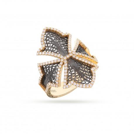 COUTURE   Anel com Diamantes