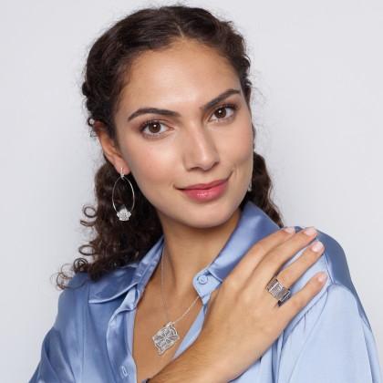 DECO FILIGREE   Diamond Ring