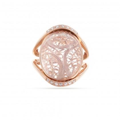 DECO FILIGREE | Diamond Ring