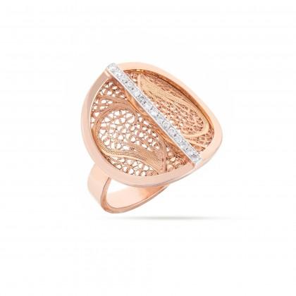 DECO FILIGREE   Anel com Diamantes