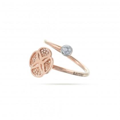 BLOSSOM   Anel com Diamantes