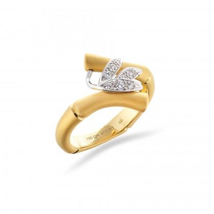 Bamboo | Diamond Ring