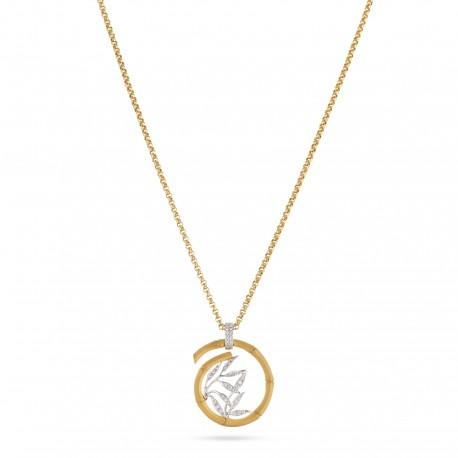Bamboo | Diamond Necklace