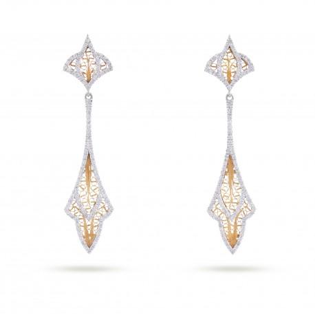 COUTURE   Brincos com Diamantes