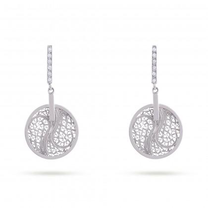 DECO FILIGREE | Diamond Earrings