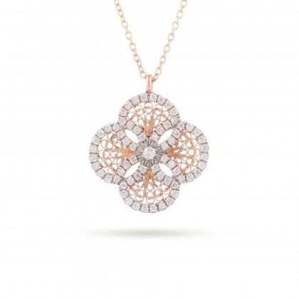BLOSSOM   Colar com Diamantes
