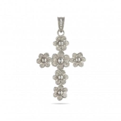 Flor | Cross pendant