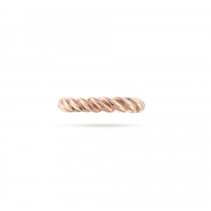 Spiral band ring