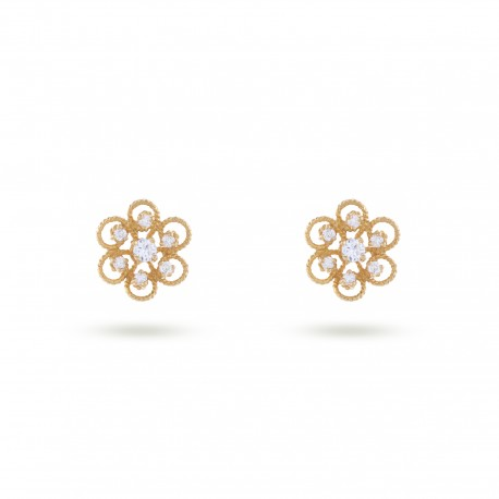 Diamond Filigree | Earrings