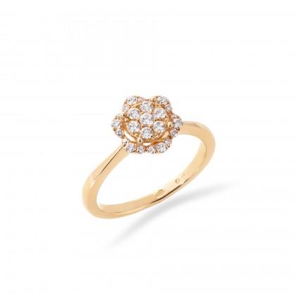 Anel com Diamantes